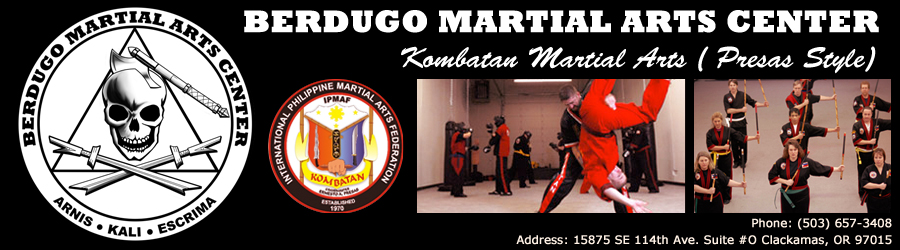 Berdugo Martial Arts Center, Clackamas and Portland, Oregon